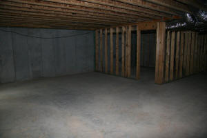 Dream Builder Remodel Basement Unfinished